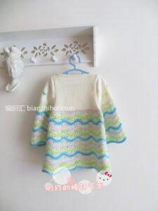 Bebek Örgü Elbise Modelleri ve Yapılışları 29