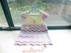 Bebek Örgü Elbise Modelleri ve Yapılışları 5