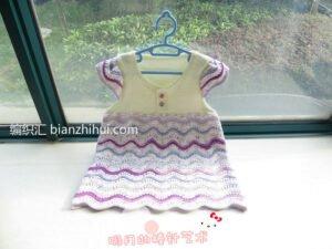 Bebek Örgü Elbise Modelleri ve Yapılışları 6