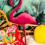 Dekoratif Flamingo Yastık Yapımı 17