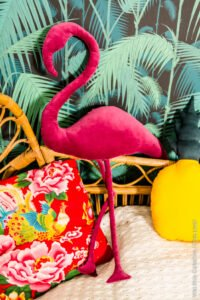 Dekoratif Flamingo Yastık Yapımı