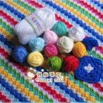 Köşeden Köşeye Renkli Bebek Battaniyesi 2
