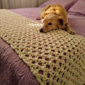 Makrome Yatak Şalı Nasıl Yapılır? 8