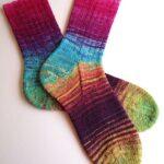 Örgü Çorap Modelleri ve Yapılışı 8